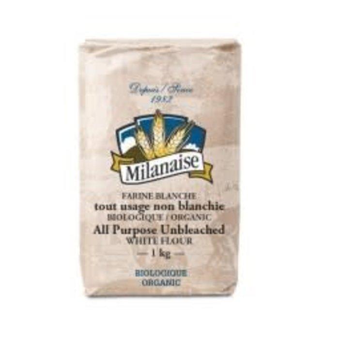 Farine blanche non blanchie tout usage bio 1kg