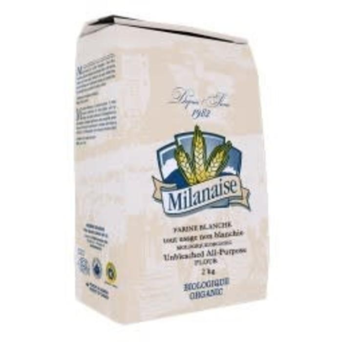 Farine blanche non blanchie tout usage bio 2kg