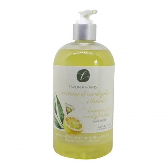 Savon à mains verveine et eucalyptus citronné 500 ml