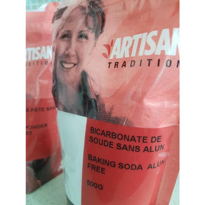 Bicarbonate de soude sans aluminium