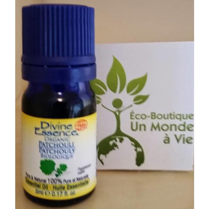 Huile essentielle Patchouli bio (Pogostemon cablin) 5 ml