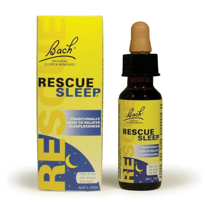 Rescue remede secours sommeil vaporisateur 20ml