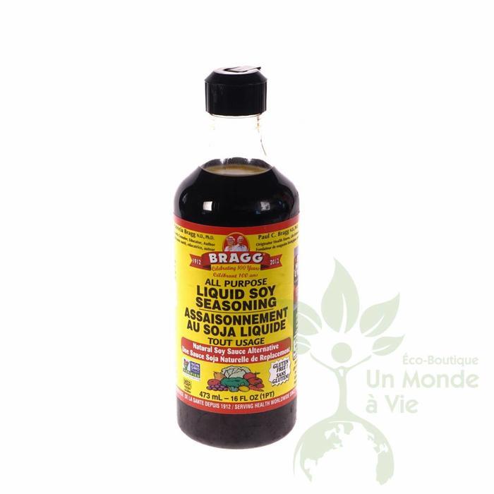 Sauce assaisonnement tout usage soya 473 ml 16 acides aminés
