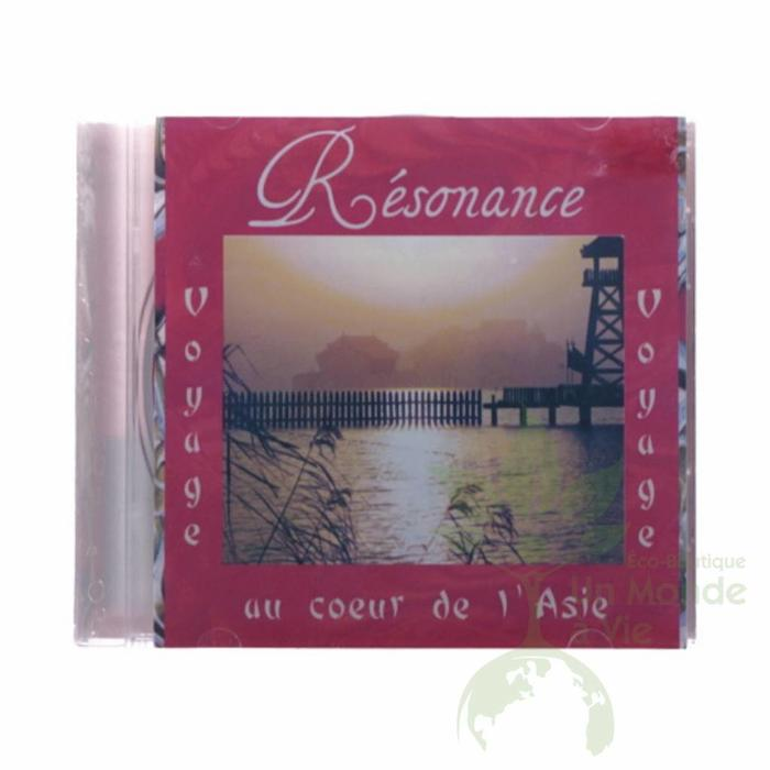 CD Resonance au coeur de l'Asie de Louise Goulet