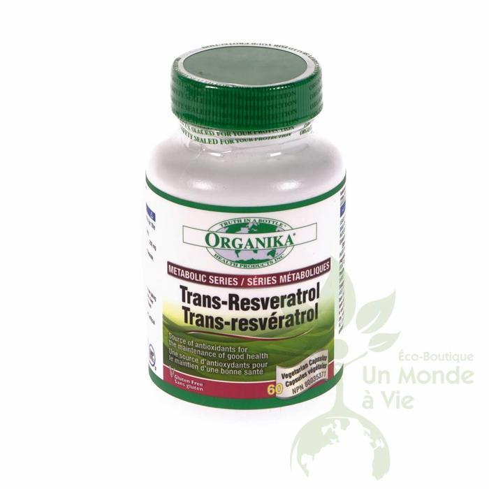 Trans-resveratrol 60caps