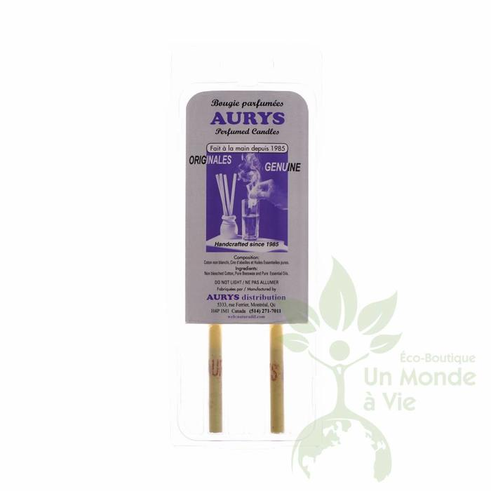 Bougies auriculaires 1 paire adulte