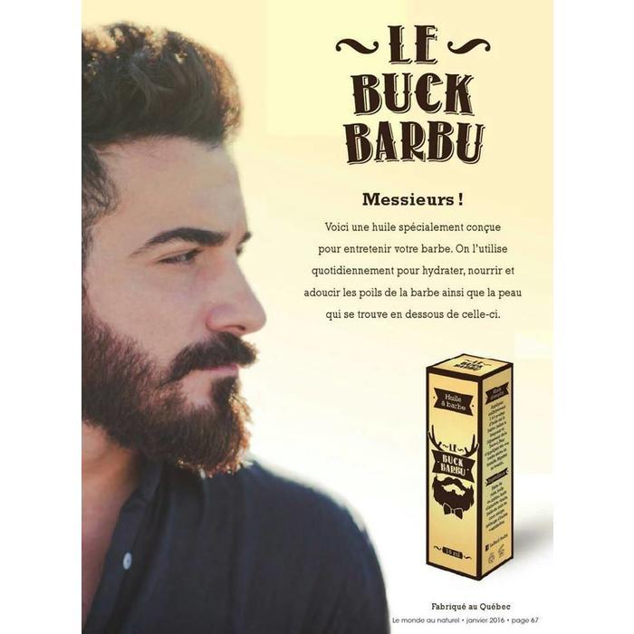 Huile a barbe 15ml
