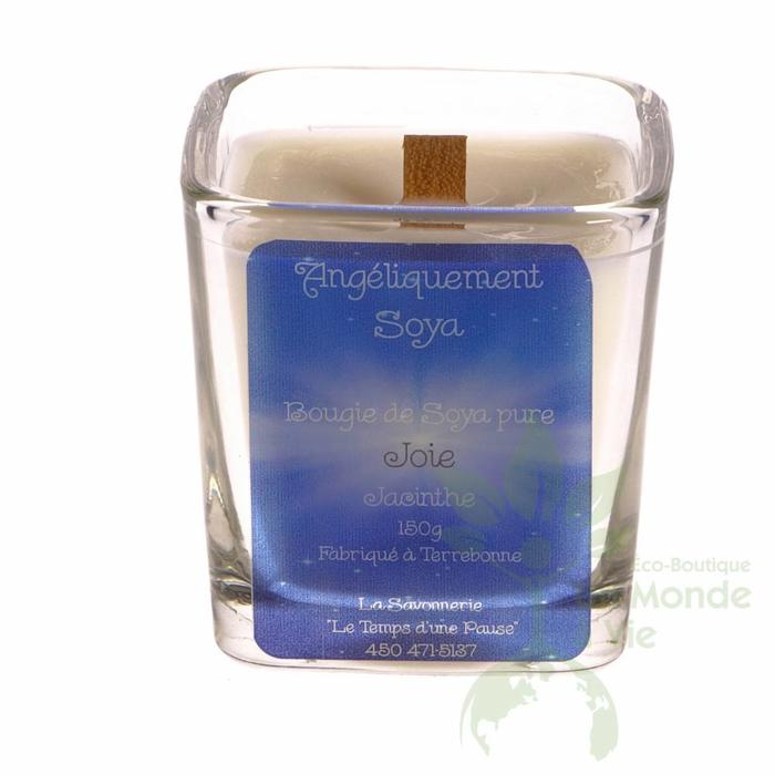 SAVONNERIE TEMPS PAUSE Bougie soya 150g