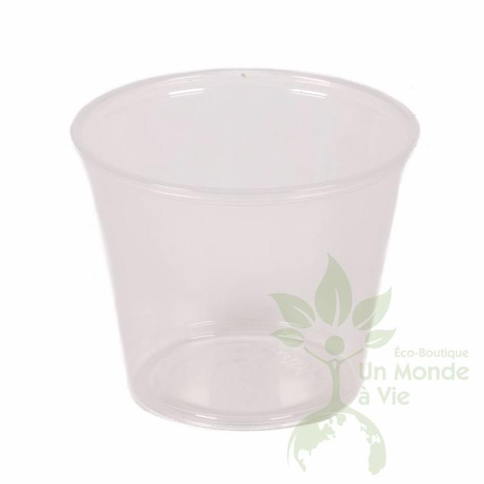 TOUCH Paq. 250 verres plast. recyclable 5,5on