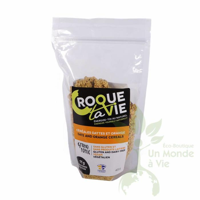 Granola Dattes et orange 400g