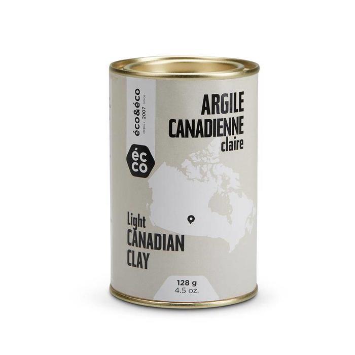 Argile canadienne claire pour peau normale 128g