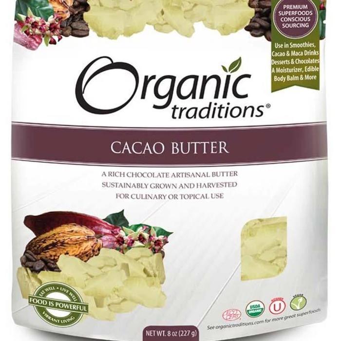 Beurre de cacao bio 227 g