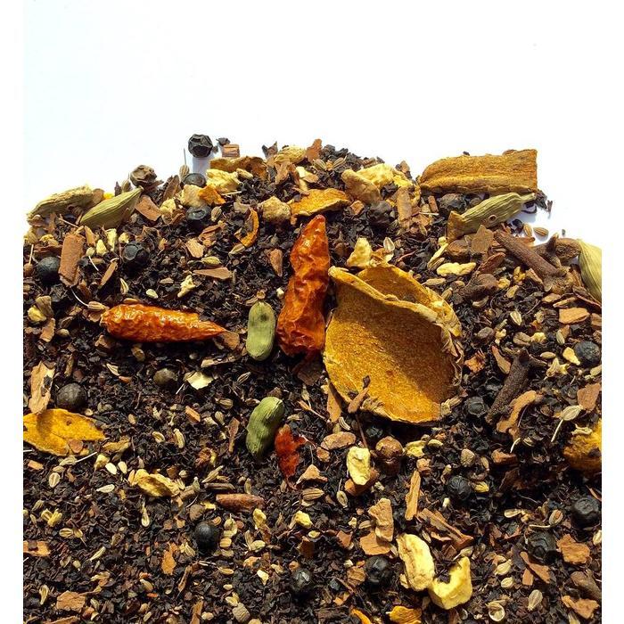 The Chai curcuma thé noir 65g