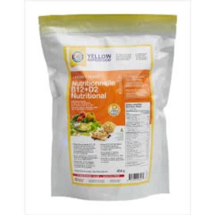 Levure nutritionnelle B12+D2