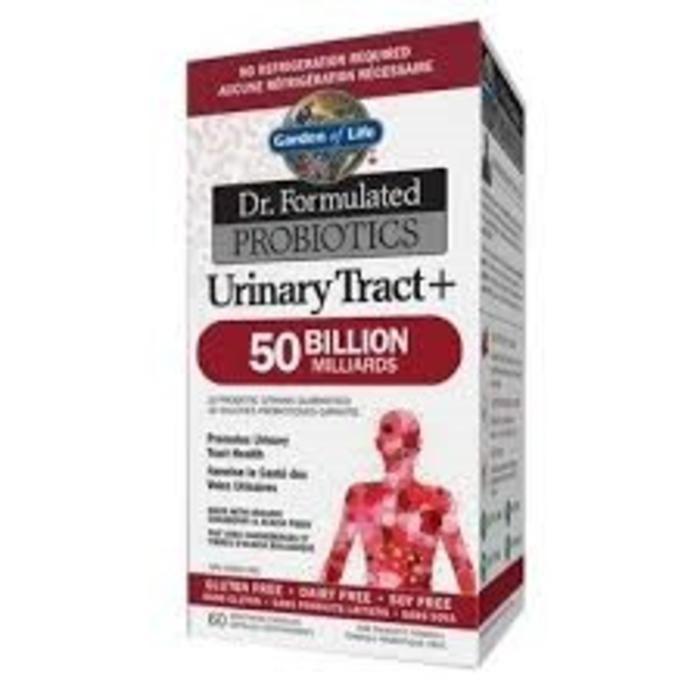 Probiotiques Voies Urinaires 50 milliards 60 capsules vege