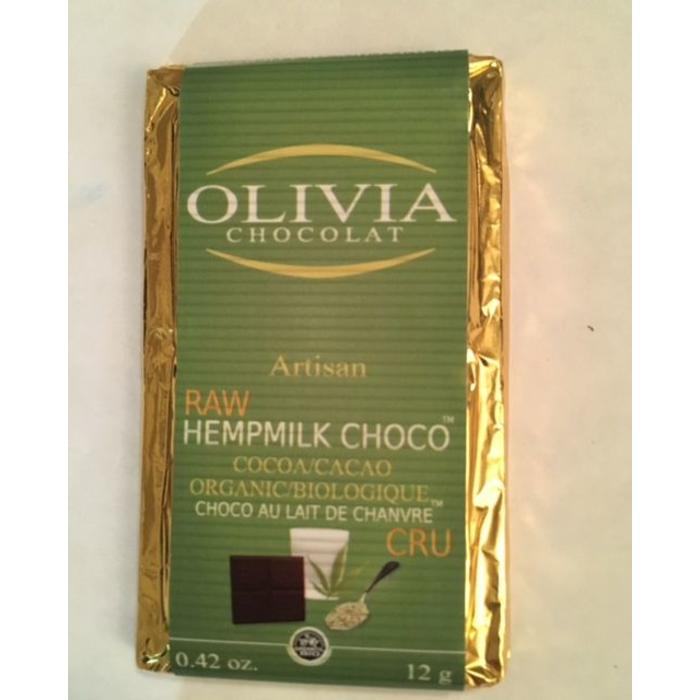 Mini chocolat équitable lait de chanvre 12g