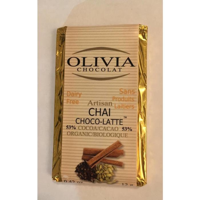 Mini chocolat équitable chai choco-latte 53% 12g