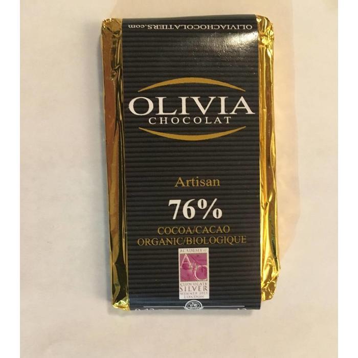 Mini chocolat équitable 76% 12g