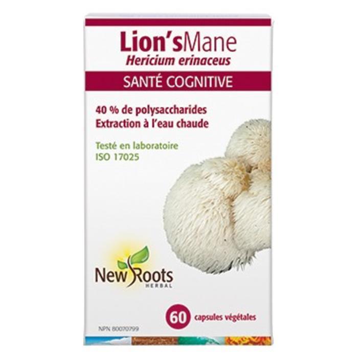 Lion's Mane 60 capsules (hericium)