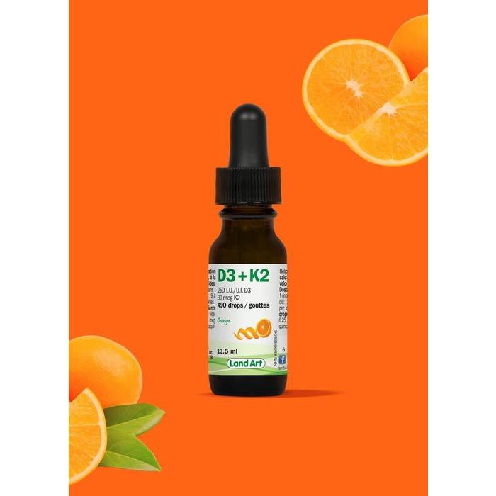 Vitamine D3 + K2 13.5ml