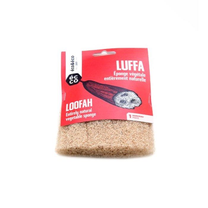 Luffa (eponge vegetale) plat