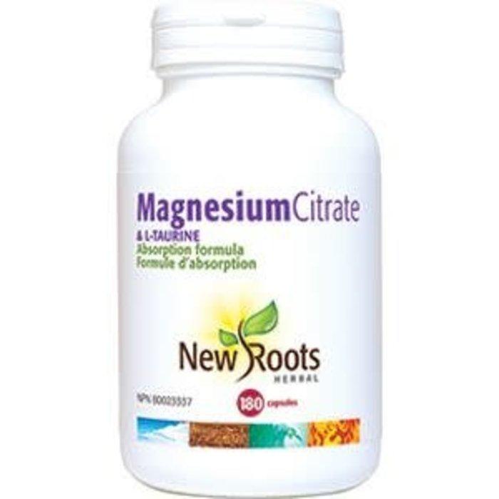 Magnesium citrate et L-Taurine