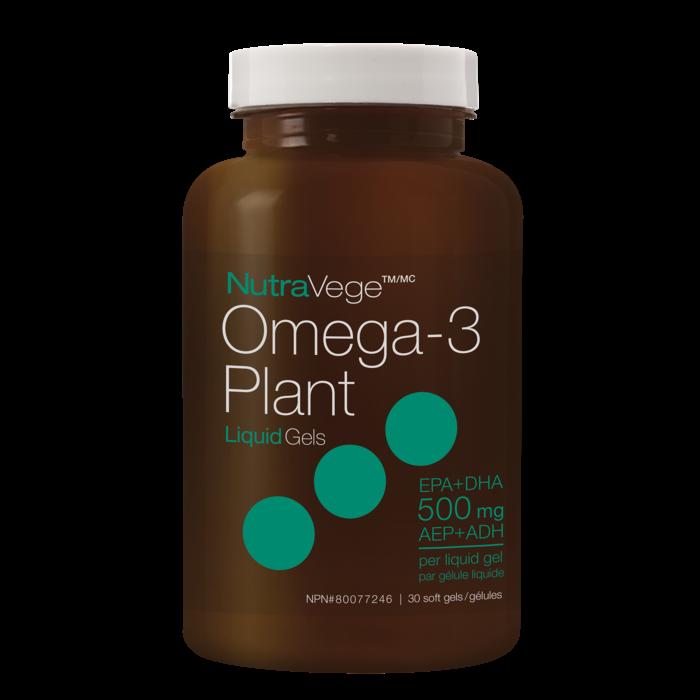 Omega-3 végé (500 mg) 30 gelules