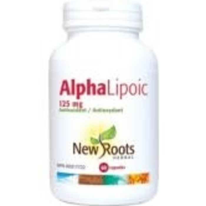 Acide alpha lipoique 60 capsules