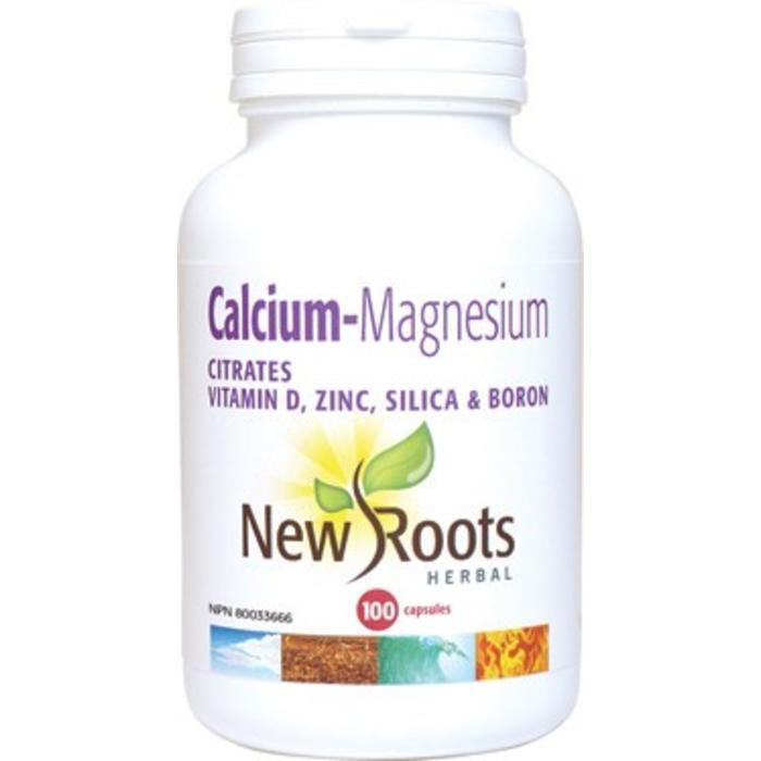 Calcium, magnésium, vit D, zinc, silice et bore 200 capsules