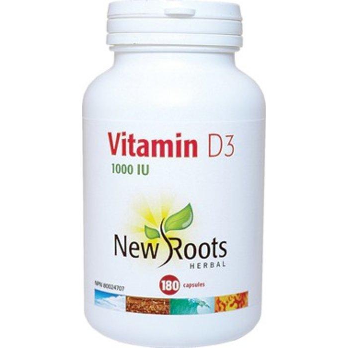 Vitamine D3 1000UI 180 capsules
