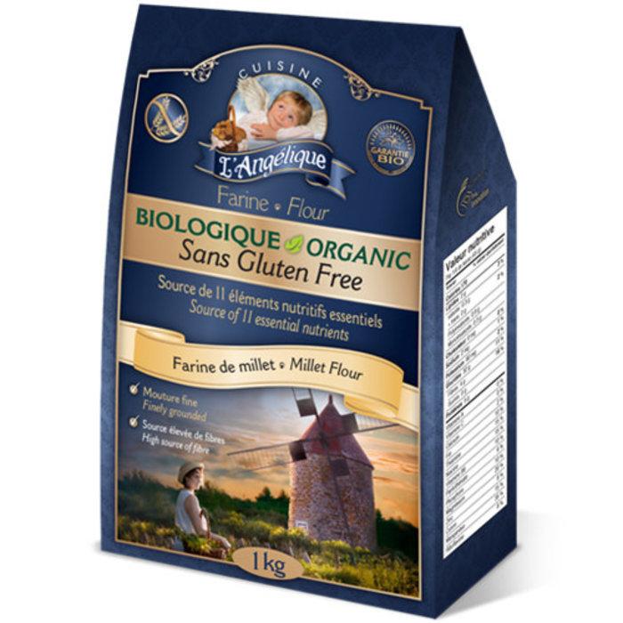 Farine de millet bio 1kg