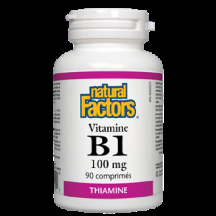 B1 thiamine 100 mg 90 caps