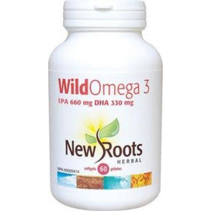 Wild Omega 3 - 330mg 60 capsules 2 en 1