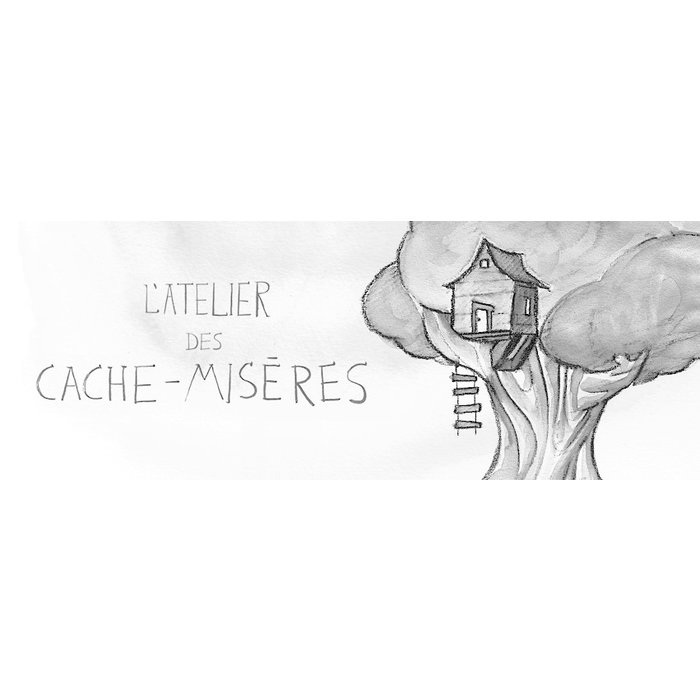 ATELIER DES CACHE-MISERES Banderoles 5 panneaux