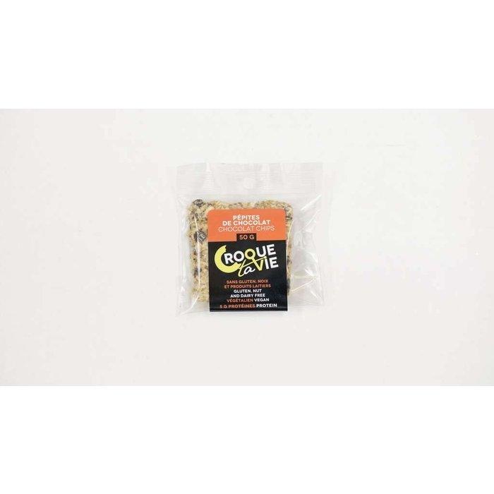 Barre Pepites de chocolat 50g
