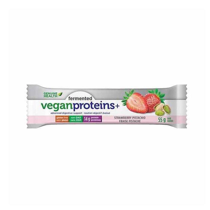 Barre proteines vegan fraises et pistache 55g