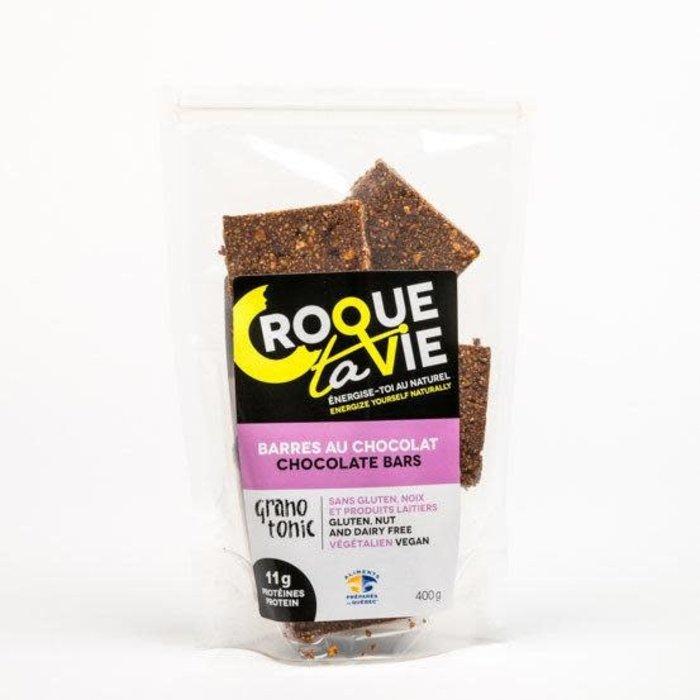 Barres granola chocolat 400 g