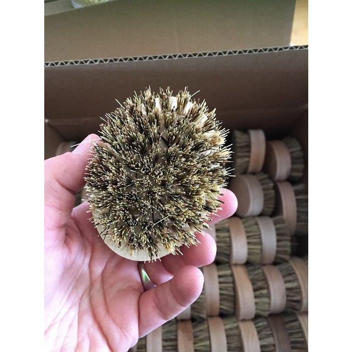 Brosse a récurer en bois d'érable et fibre mixte