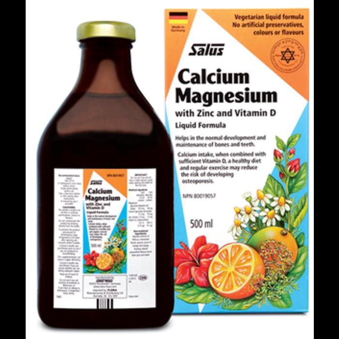Calcium-Magnesium (zinc, vitamine D) 500ml