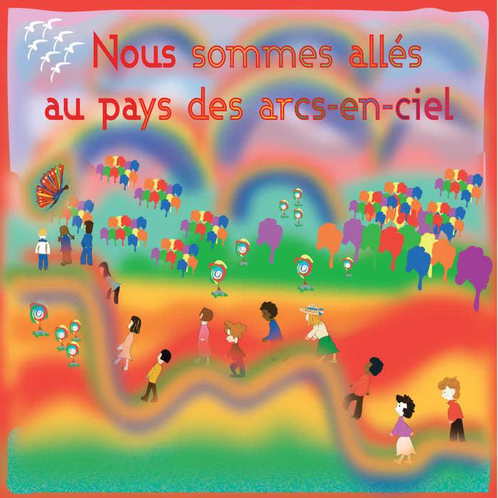 CD Conte au pays des arcs-en-ciel Louise Goulet