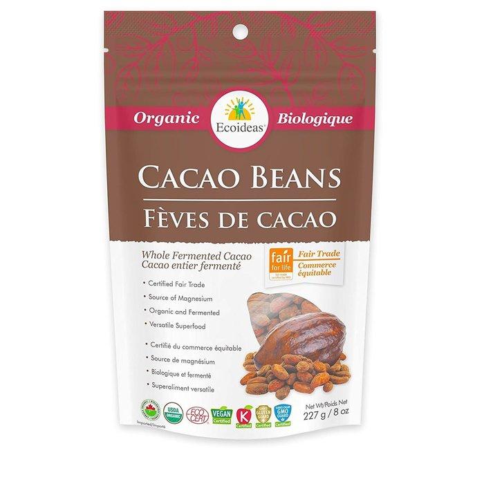 Fèves de cacao bio 227g