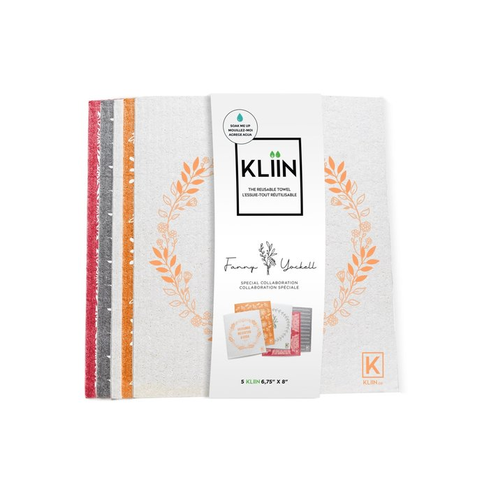 Lingette essuie-tout réutilisable paquet de 5 petites