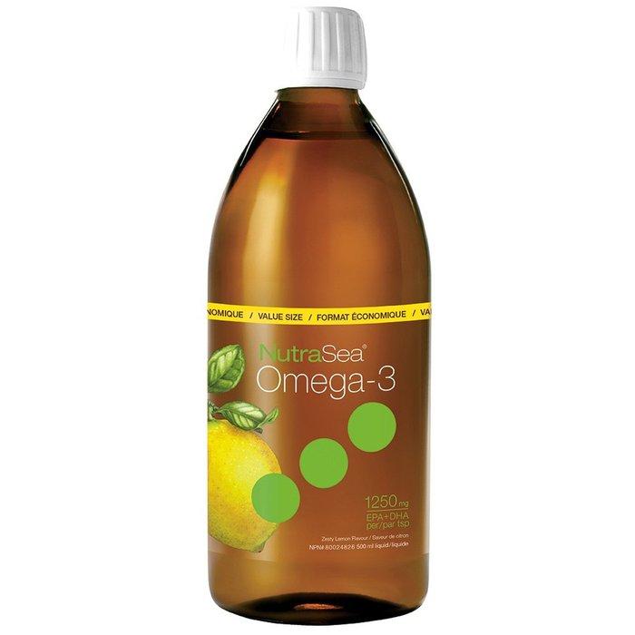 Omega-3 concentré 1500mg 200ml saveur citron
