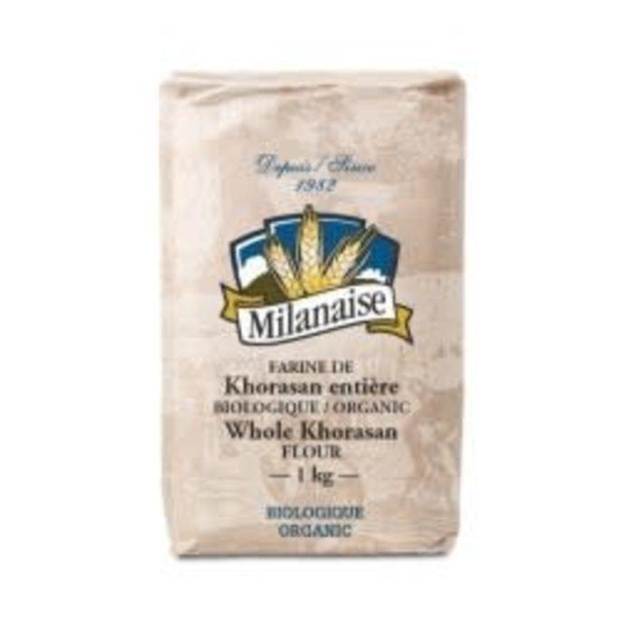 Farine de khorasan entiere bio 1kg