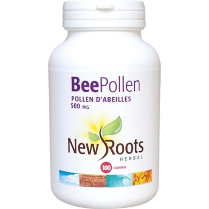 Pollen d'abeille 500mg 100 capsules
