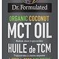 Huile de TCM 100% noix de coco bio (MCT oil) -