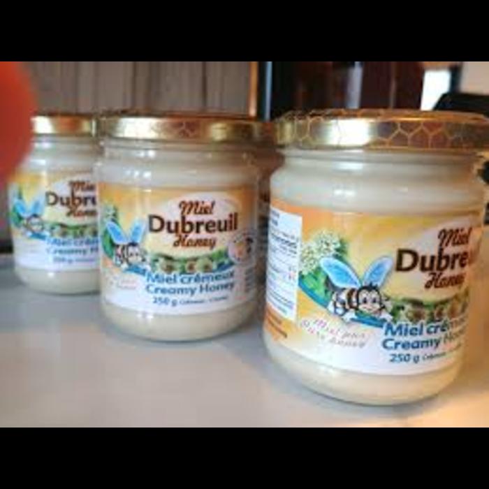 Miel crémeux blanc