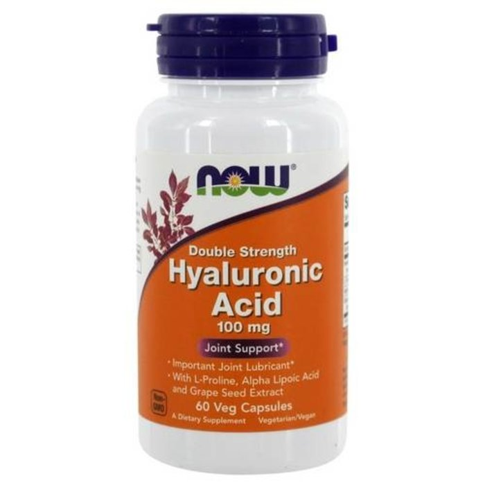 Acide Hyaluronique 60 capsules 100 mg