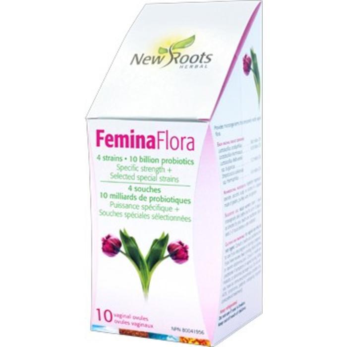 Femina flora 10 milliards 10 capsules