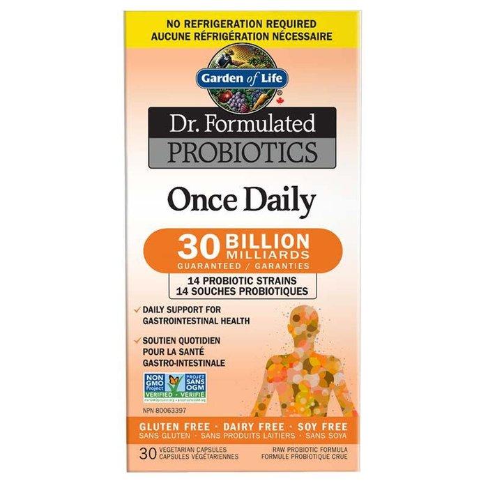 Probiotiques quotidien 30 milliards 30 capsules vegetariennes